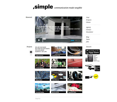 ,simple — Wordpress-Webseite