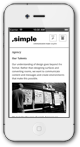 ,simple — Mobile Template